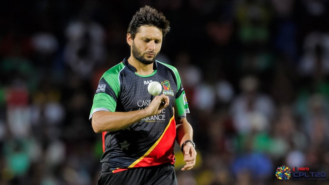 AFRIDI BACKS PAKISTAN TO PUSH FOR WORLD T20 TITLE CPL T20