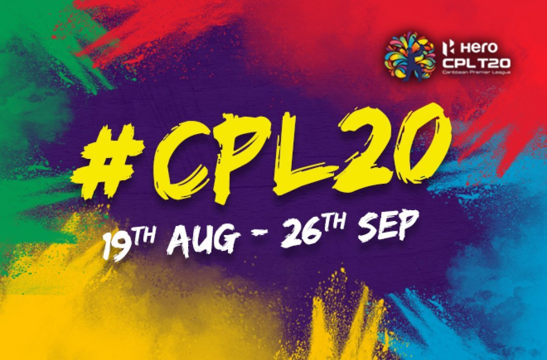 HERO CPL 2020 TO TAKE PLACE BETWEEN 19TH AUGUST & 26TH SEPTEMBER ...