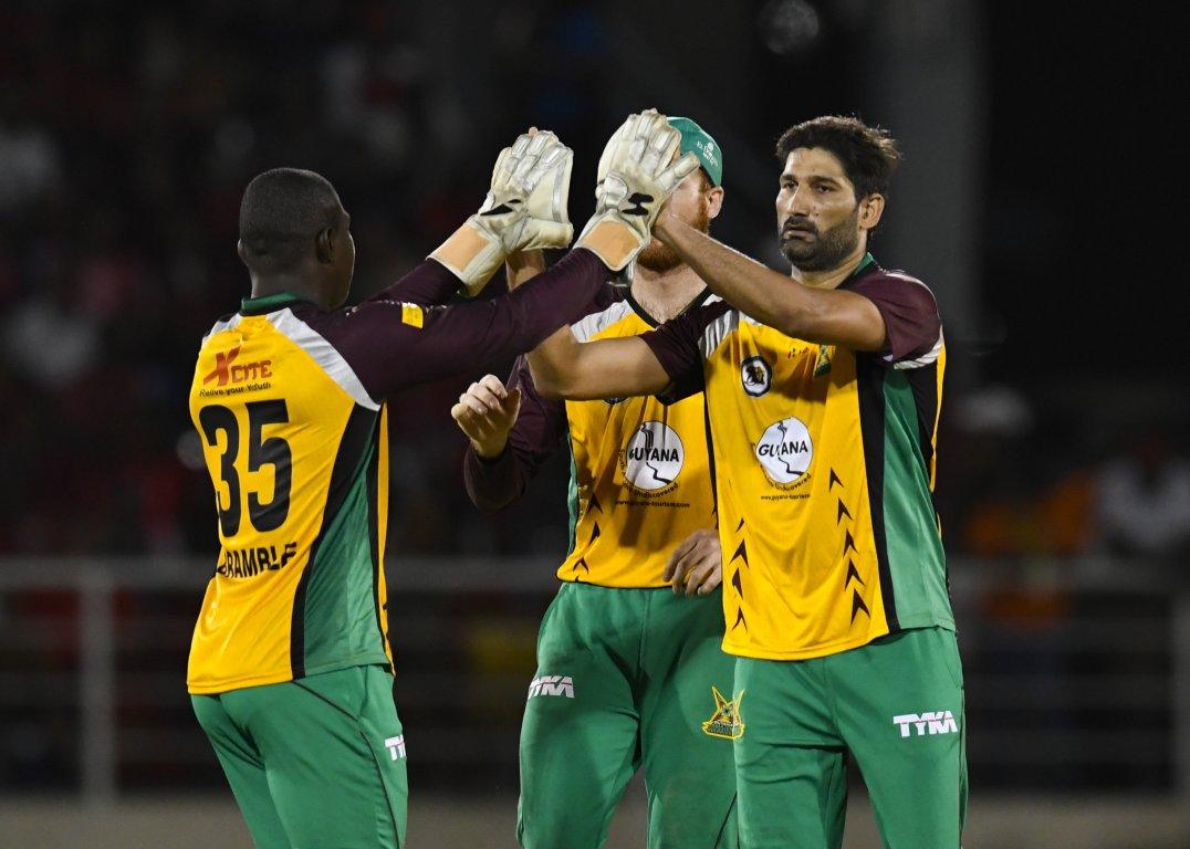 Sohail Tanvir helps Guyana Amazon Warriors to a win in the Caribbean Premier League