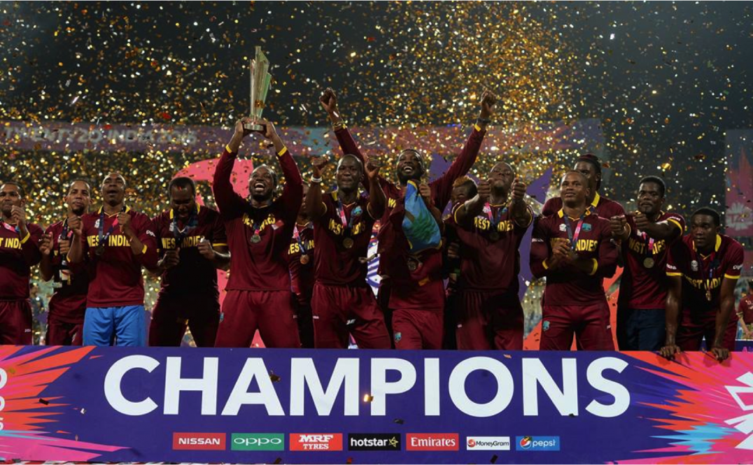 WEST INDIES DROP TO THIRD IN LATEST ICC T20 RANKINGS CPL T20